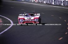 Chevron B36 Pignard-Dufrene-Henry. Photo.  1st in class 6 o/a LeMans 25h 1977